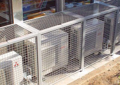 Our RPZ Cages are made from hot galvanised steel