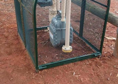 This RPZ cage was manufactured by Cage Enterprises and installed in the suburb of Salisbury in Adelaide, South Australia