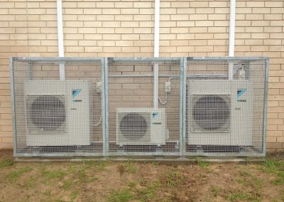 Cage installation at Blackwood Primary & High Schools