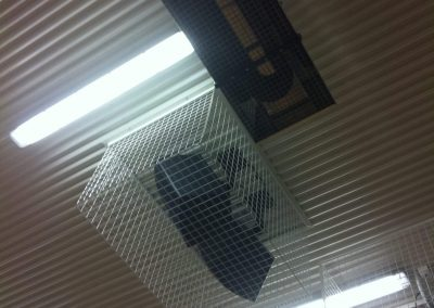 Cage installation at Cowandilla Primary School