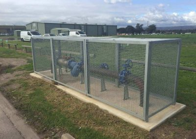 Cages for all meter installations - Gas, Water, RPZ