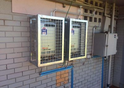 Cages for gas metres