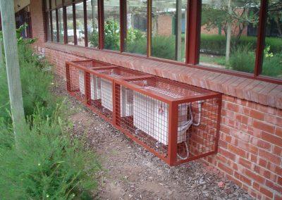 Condenser cage