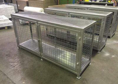 LPG Gas Bottle storage cages supplied across Australia