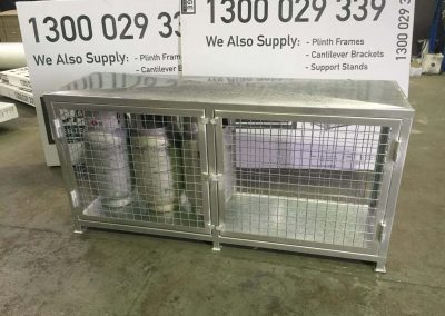 Cage Enterprises are experts in fabrication of LPG Gas Bottle storage cages