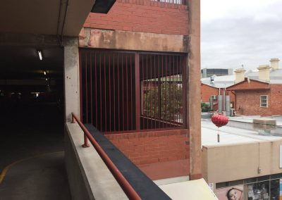 We installed these security bar frames in an industrial establishment in Adelaide, South Australia