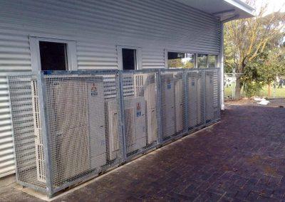 Security cage installation @ Belair Primary School, SA