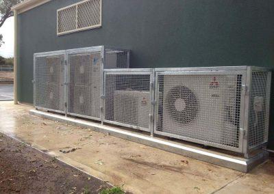 Air con cage Condenser cage